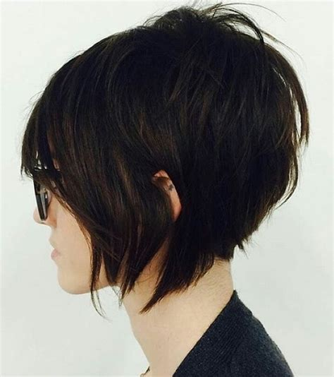 stacked shaggy haircuts 20 sexy stacked haircuts for short hair you can easily