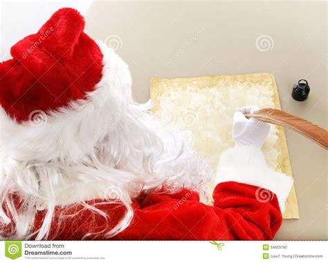 view card room santa santa makes his list stock photo image 34653790