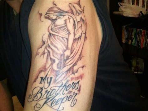 brothers keeper tattoo designs pin by pat jones on pat tattoos