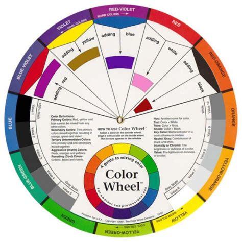 artist color wheel colour wheel artist s size
