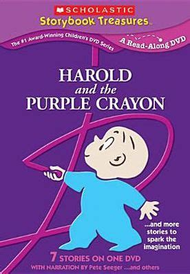 libro harold and the purple harold purple crayon more stories that spark by pete seeger 767685105474 dvd barnes