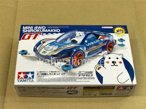 Tamiya Mini4wd Shirokumakko Gt Version tamiya 95304 1 32 mini 4wd jr shirokumakko gt ma chassis kit