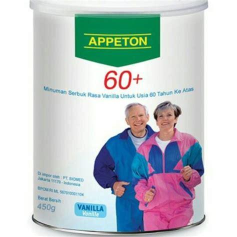 Appeton Hari Ini Jual Appeton 60 60 Plus Makanan Pengganti Untuk