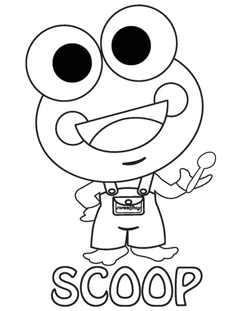 sweet frog coloring page sweet frog coloring contest win some sweet prizes