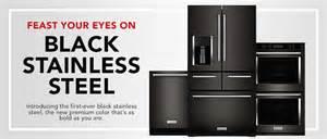 Kitchen Appliance Suites Stainless Steel - black stainless steel kitchen suite kitchenaid