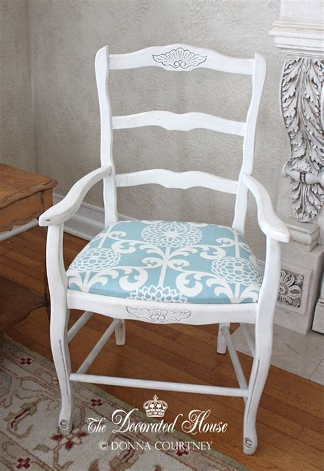 Upholstering A Chair Seat Cushion by The Decorated House How To Upholster A Simple Chair