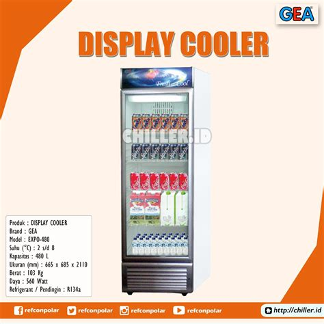 jual expo 480 display cooler brand gea harga murah di