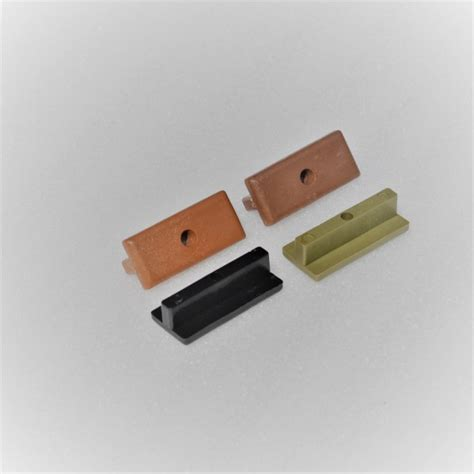 nylon  clip  composite decking green forest green