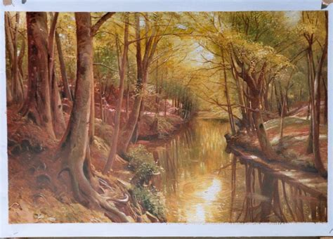 painting reproductions peder mork monsted reproductions details