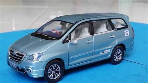Diecast Kijang Inova custom toyota innova 2014 blue diecast car wellynex 1 40