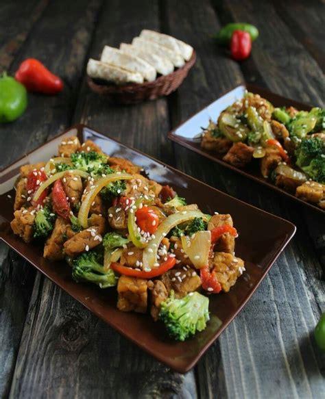 resep tempe brokoli lada hitam masak  hari