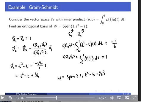 inner product orthonormal basis dot product vs inner product mathxchanger