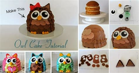 how to make an owl cake home design garden