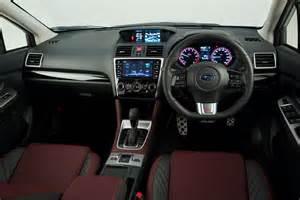 Subaru Interior Subaru Levorg Sti Development