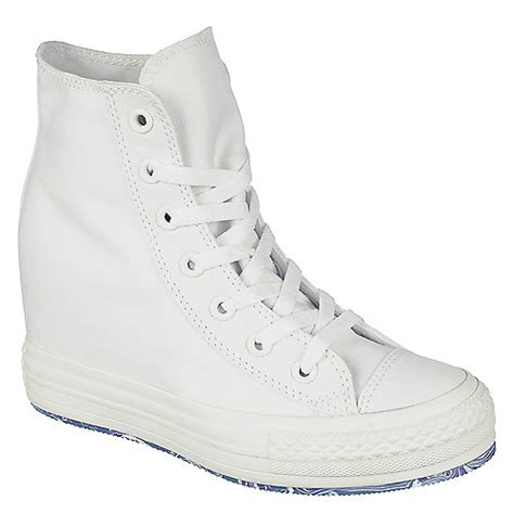 converse wedges sneakers converse chuck platform white lace up wedge sneaker