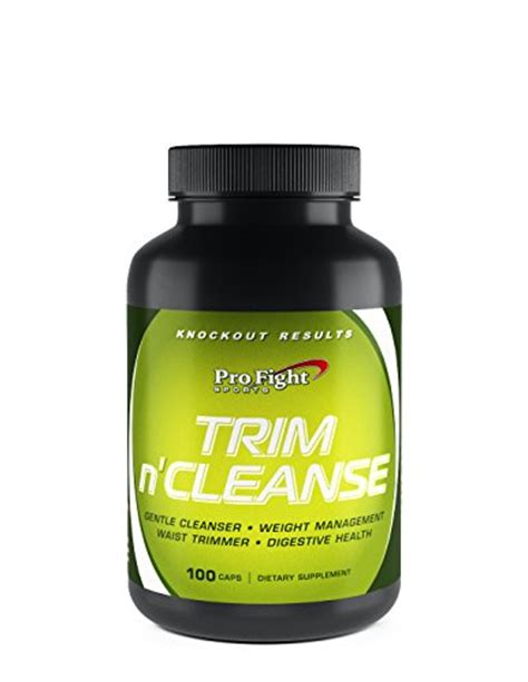 Detox Pro Reviews by Pro Fight Trim N Cleanse 100 Capsules Detox And