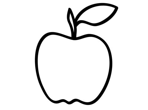 Outline Free by Apple Drawing Outline Www Pixshark Images Galleries With A Bite