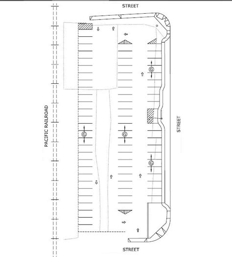 Outdoor Deck Design Software parking lot layouts with cad pro
