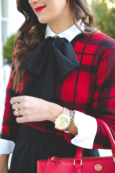 Sweater Uber With Back Print plaid our favorite season print crossroads