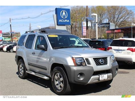 2010 silver lightning metallic nissan xterra s 4x4 63242708 gtcarlot car color galleries