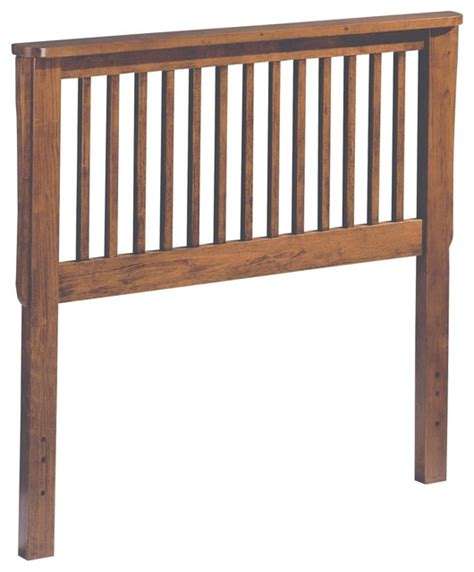 Homelegance Mission Solid Wood Headboard In Oak Queen