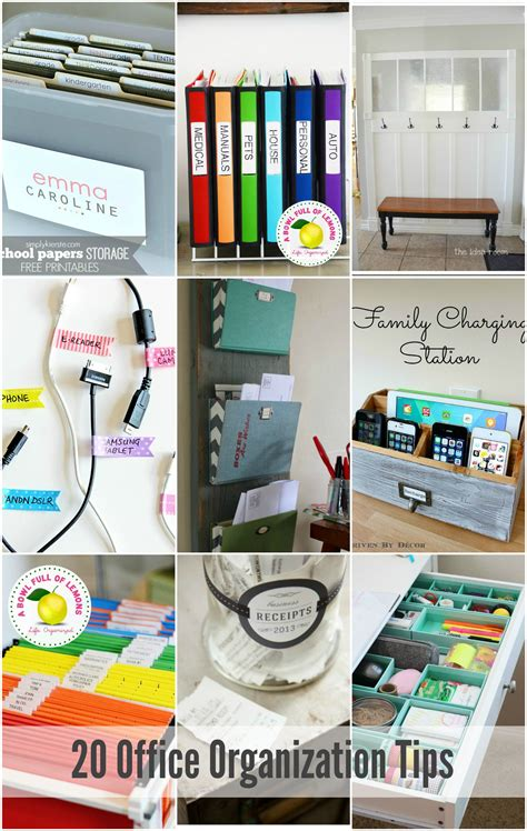 office organizing ideas 20 office organization tips the idea room