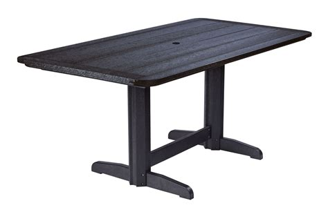 36 Pedestal Dining Table Generations Black 36 Quot Pedestal Dining Table From Cr Plastic T11 14 Coleman Furniture