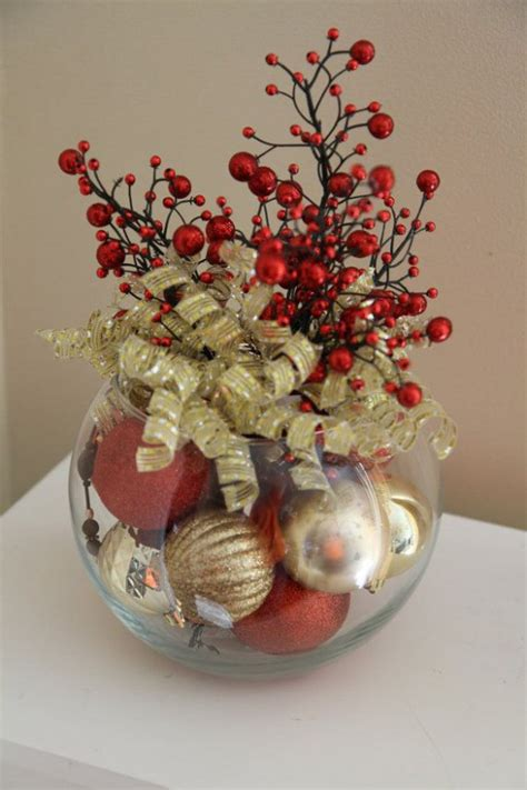 christmas centerpieces 32 amazing red and gold christmas d 233 cor ideas digsdigs