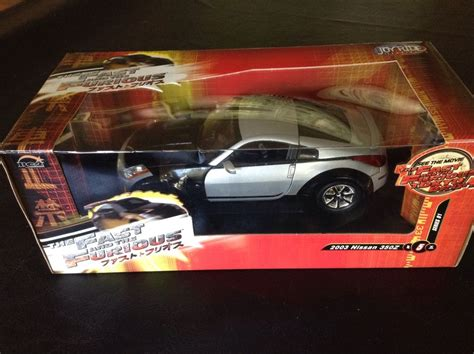 Fast And Furious Hotwheels Nissan 350z Th Diecast 350 Z the fast and the furious tokyo drift 2003 nissan 350z die die cast car 1 18 nib ebay