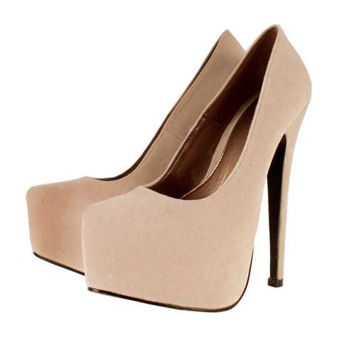 high heels beige beige platform heels qu heel