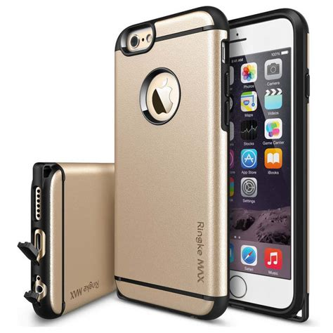 Ringke Max Iphone 6 Plus rearth ringke max dorado para iphone 6 plus pccomponentes