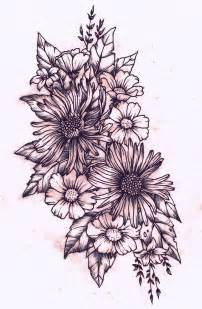flower collage tattoo designs 25 best ideas about sunflower shoulder on