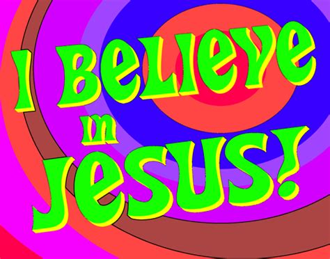 I Believe In Jesus blogthechurch