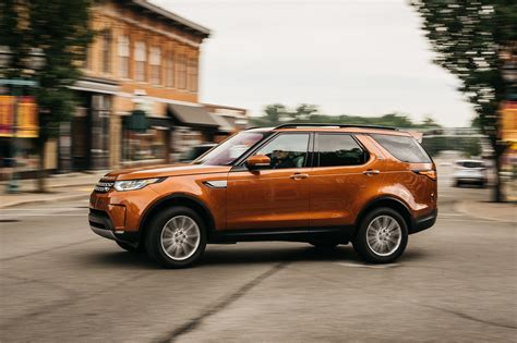 orange land rover discovery an orange 2017 land rover discovery joins the four seasons