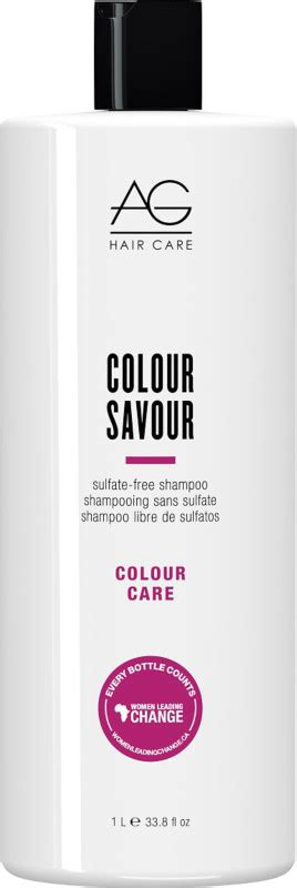 ag hair cosmetics sterling silver toning shoo 33 8 oz colour care colour savour sulfate free shoo