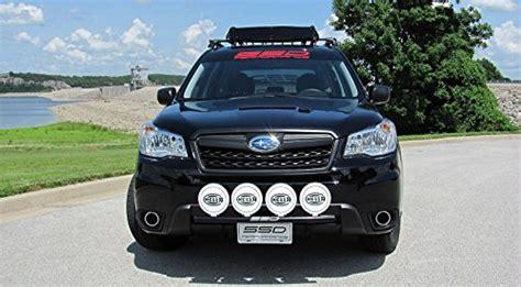 2016 subaru outback light bar fits 2014 2017 subaru forester 2 5 rally light bar bull