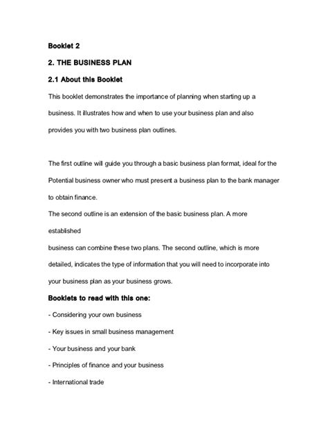 business plan template for franchise business plan template