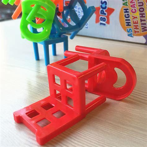 mainan tumpuk kursi keseimbangan multi color jakartanotebook