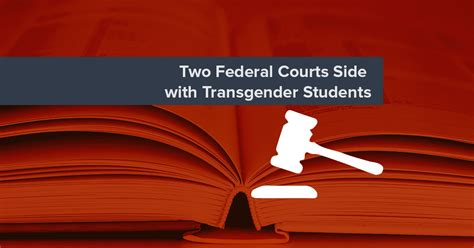 Ohio Federal Court Records Two Federal Courts Side With Transgender Students National Center For Transgender