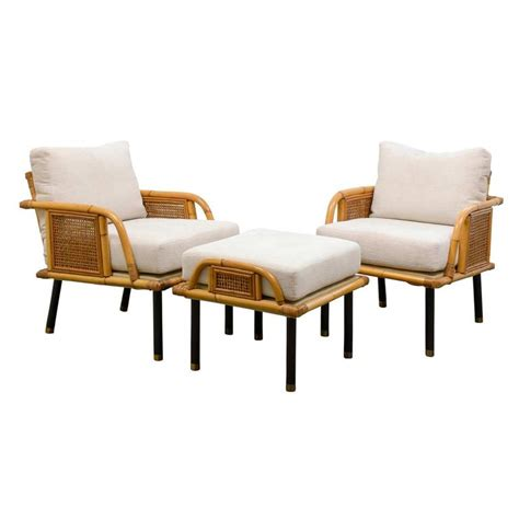 unique modern lounge chairs unique pair of modern rattan and lounge chairs by