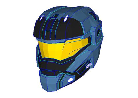 Papercraft Helmet Pdf - papercraftsquare new paper craft halo commander
