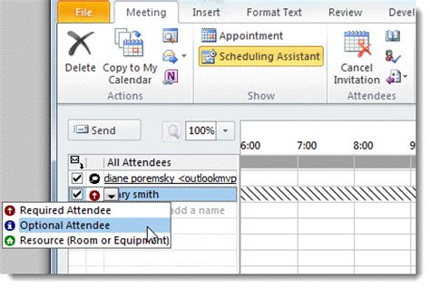 What Calendar Do You To Cc Or Bcc A Meeting Request
