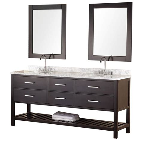 home depot design element vanity design element portland 72 in w x 22 in d vanity in