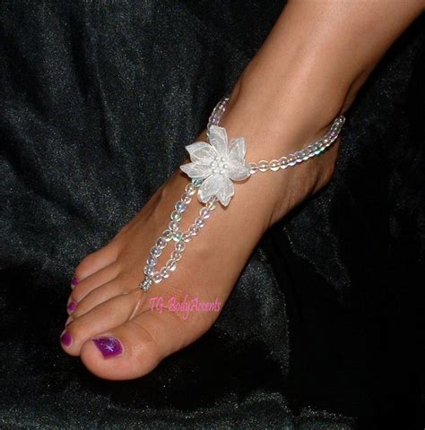 how to make foot jewelry sandals foot jewelry make