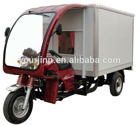 Motorrad Transport China by Delivery Cart Motorcycle With Closed Box Buy Box