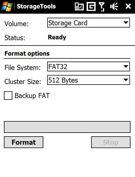 format html for mobile how to format storage card in windows mobile