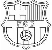 Dibujos Para Colorear Del Escudo Futbol Club Barcelona