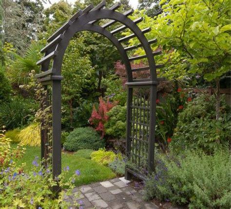 Backyard Arbors Ideas by Garden Entrance Arbor Ideas Garden Entrance Arbors And