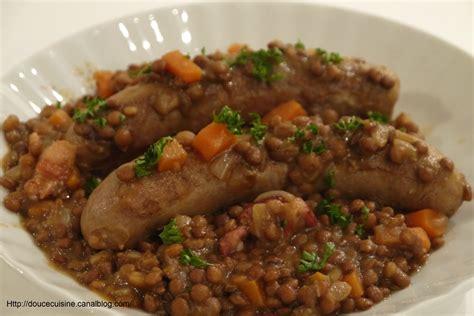 cuisine lentilles saucisses aux lentilles recette de gordon ramsay douce