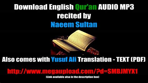 download free mp3 in english free al quran mp3 english without arabic recitation